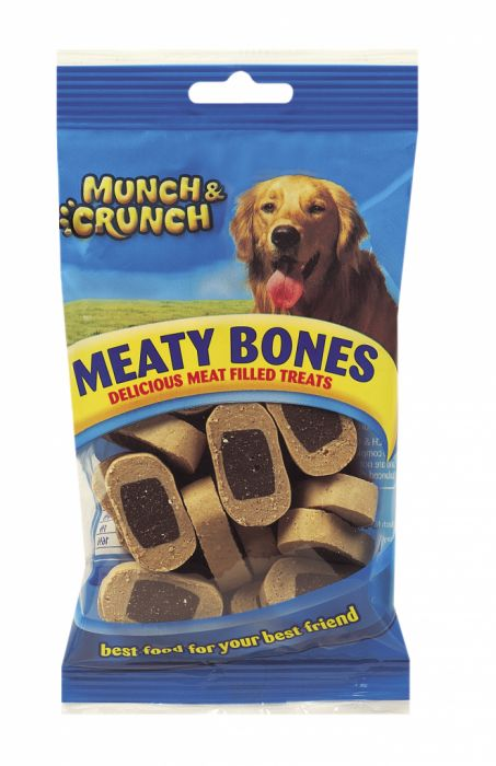 Munch & Crunch Meaty Bones 140G
