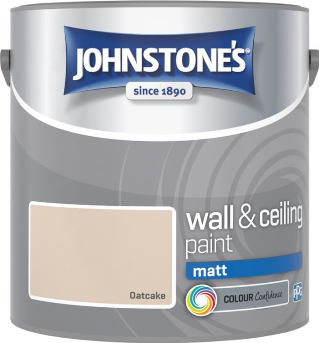 Johnstone's Wall & Ceiling Matt 2.5L Oatcake
