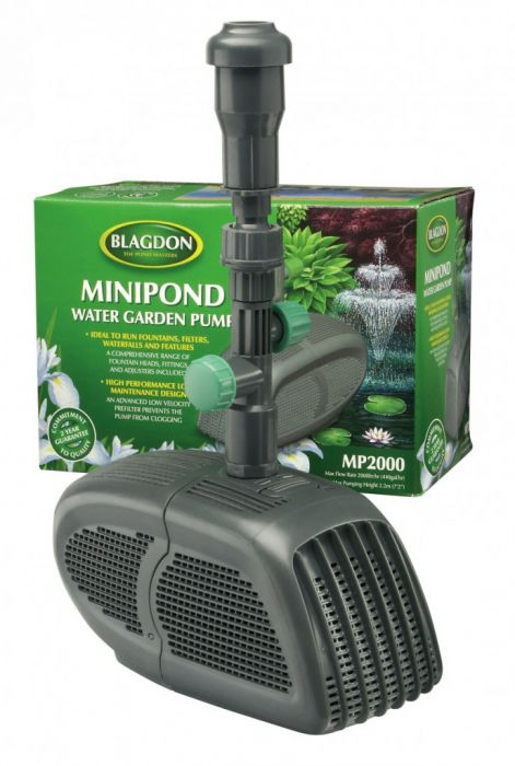 Interpet Minipond Pump 2000 For Fountains Filters Waterfalls And Features