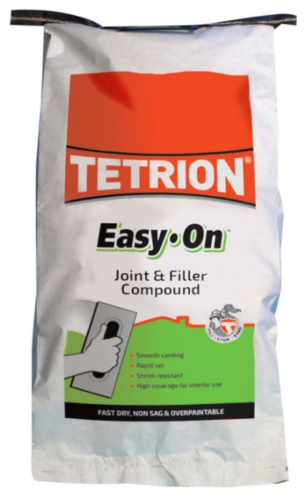Tetrion Easy On - Filling & Joint Compound 5Kg (10 X 500Gm Bags)