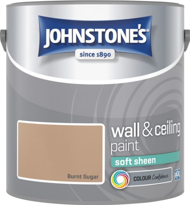 Johnstone's Wall & Ceiling Soft Sheen 2.5L Burnt Sugar