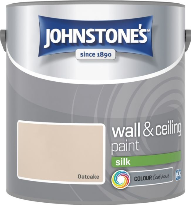 Johnstone's Wall & Ceiling Silk 2.5L Oatcake