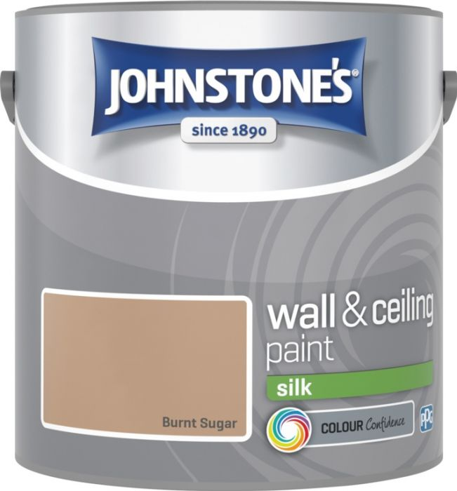 Johnstone's Wall & Ceiling Silk 2.5L Burnt Sugar