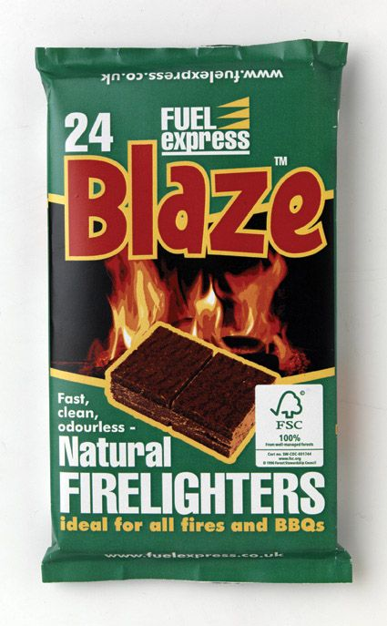 Fuel Express Barbecue Firelighters Pack 24
