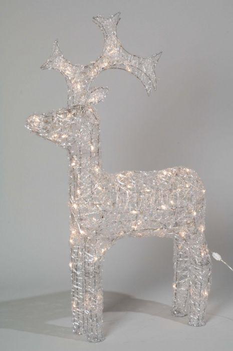 Led Outdoor Acrylic Reindeer
