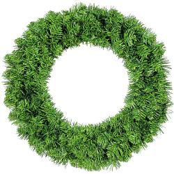 Imperial Pine Wreath Green