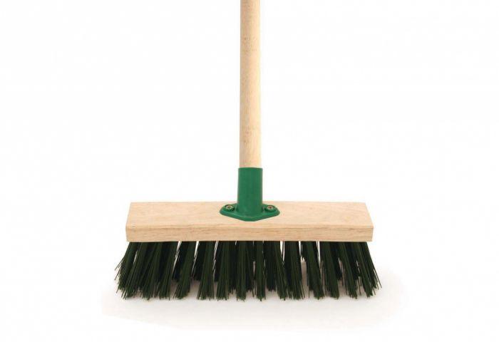 Bentley Green Pvc Brush & Handle 11