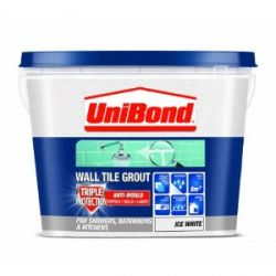 Unibond Wall Tile Grout Triple Protection Anti Mould Economy