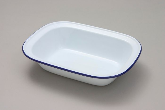 Nimbus White Oblong Pie Dish 16Cm