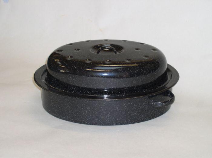 Falcon Enamel Oval Roaster 30Cm
