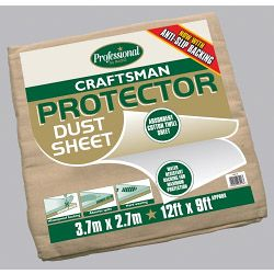 Rodo Craftsman Protector Dust Sheet Size 3.6 X 2.7M (12' X 9')