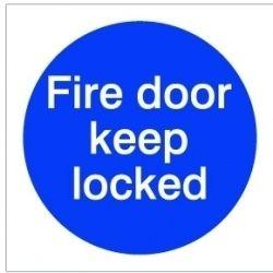 House Nameplate Co Fire Door Keep Lock 10X10cm