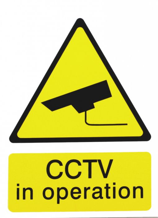 House Nameplate Co Cctv In Operation 15X20cm