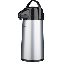 Thermos Push Button Pump Pot 1.9L Stainless Steel�