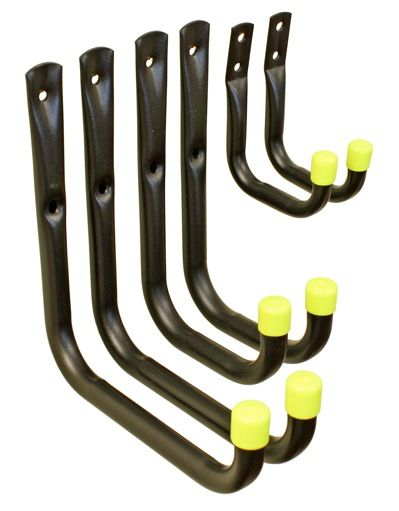 Headbourne Universal Storage Hooks Unsleeved Pack Of 6 170 X 190Mm 110 X 190Mm 70 X 100Mm