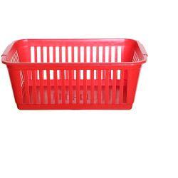 Whitefurze 25Cm Handy Basket Silver