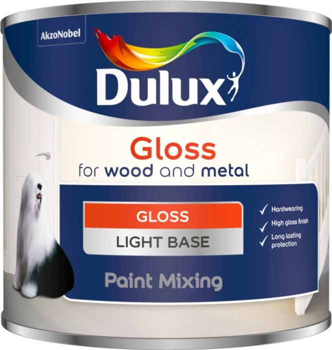 Dulux Colour Mixing Gloss Base 500Ml Light
