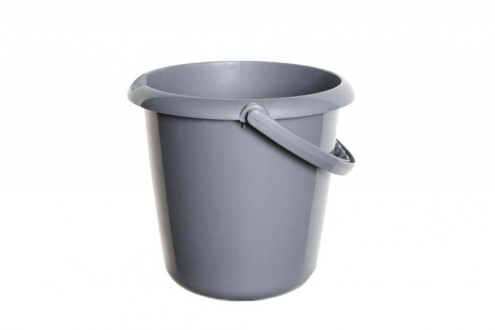 Whitefurze 5L Bucket Silver