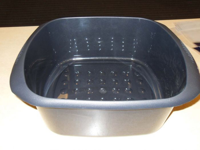 Tml Rectangular Bowl 11L Graphite