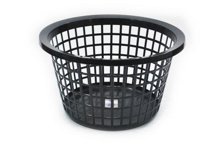 Tml Round Laundry Basket Graphite