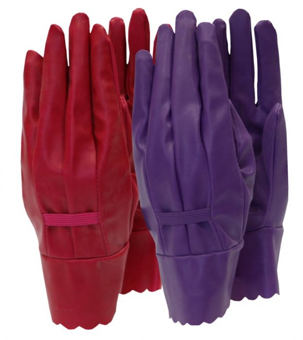 Town & Country Aqua Sure Ladies Gloves Orchid Size - M
