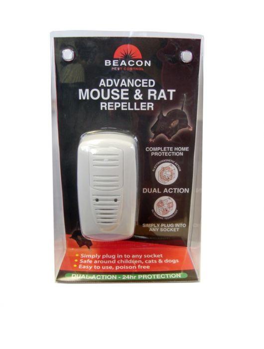 Rentokil Advanced Mouse & Rat Repeller - Dual Action Single Unit