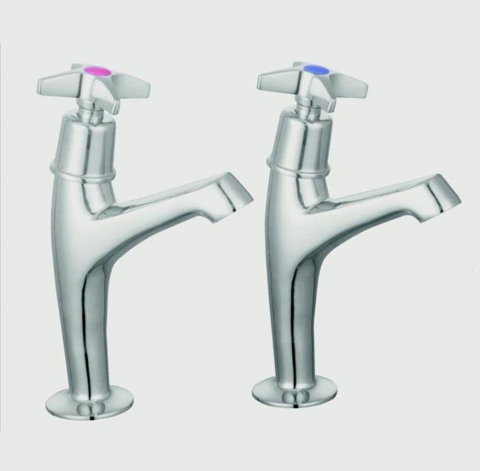 Supaplumb Cross Head Sink Taps H: 164Mm D: 119Mm Diameter: 44Mm