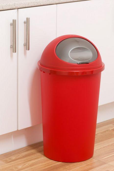 Tontarelli Round Bullet Bin 45L Red Platinum