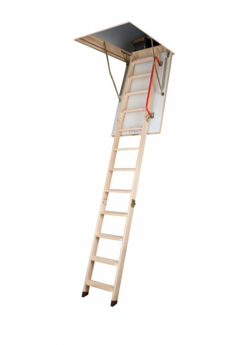 Fakro Wooden Folding Section Loft Ladder 60 X 120Cm