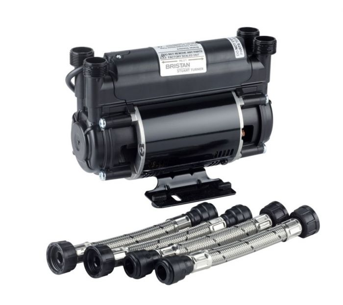 Bristan 1.5 Bar Twin Ended Shower Pump Powered