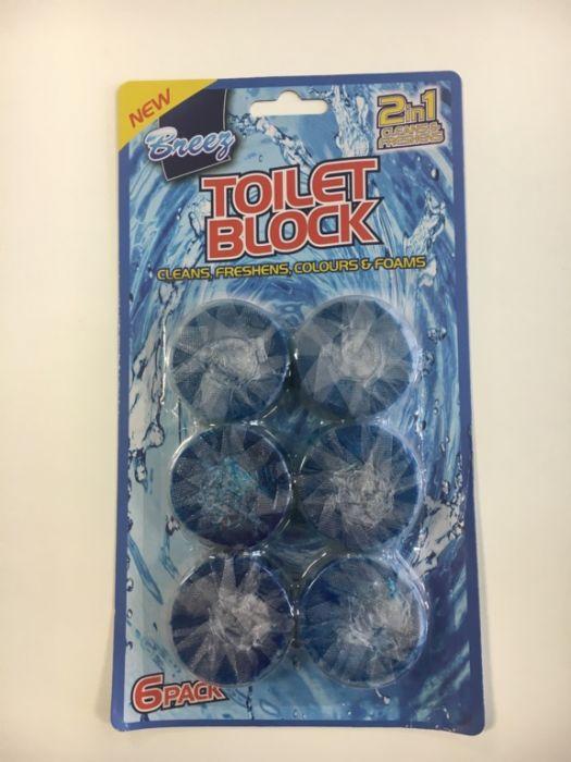 Tidyz Toilet Blocks 6 Pack