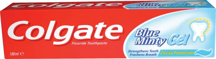 Colgate Toothpaste 100Ml Blue Minty Gel