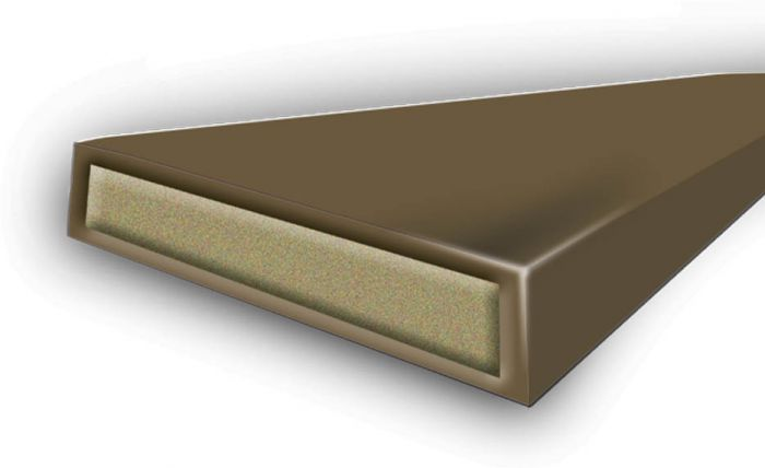 Astroflame Intumescent Seal Fire & Smoke Brown 15 X 4 X 2100Mm