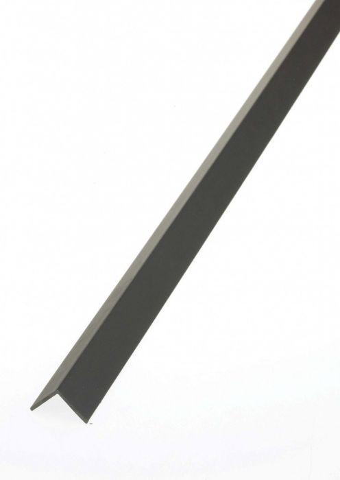 Rothley Equal Angle Plastic Black 25Mm X 25Mm 1M
