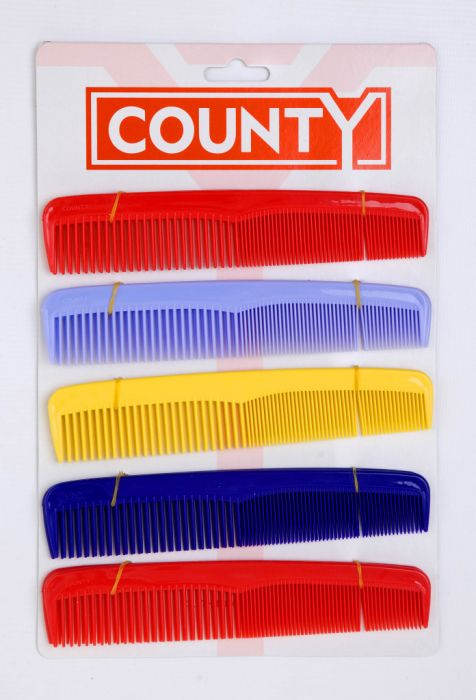County Dressing Comb Card 10 7