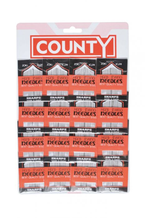 County Sewing Needles Card 16