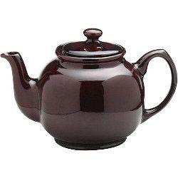Price & Kensington Rockingham Brown Gloss Teapot 1500Ml (10 Cup)