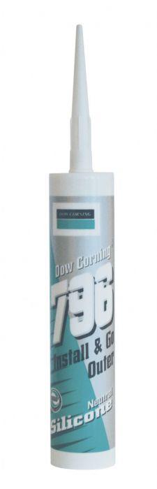 Dow Corning 796 Pvc Silicone 310Ml Golden Oak