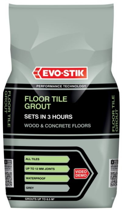 Evo-Stik Tile A Floor Fast Set Grout For All Tiles - 5Kg Sandstone