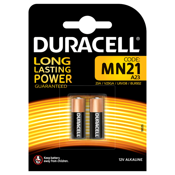 Duracell Alarm Battery Pack 2 Mn21
