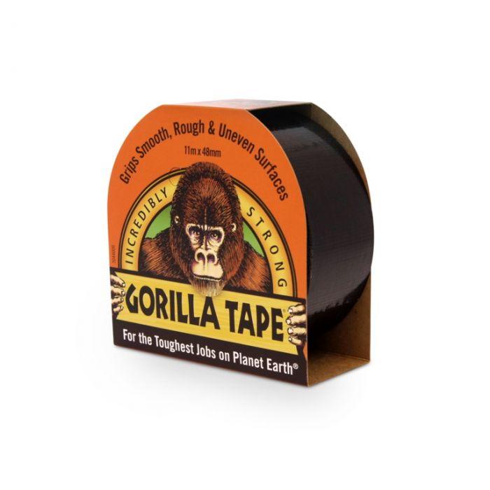 Gorilla Tape Black 11M Roll
