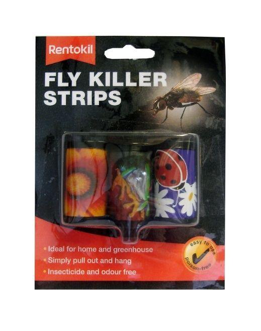 Rentokil Fly Killer Strips 3 Pack