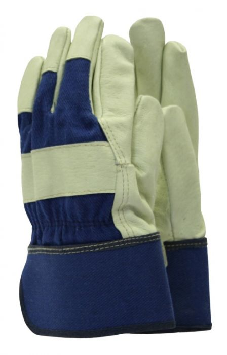 Town & Country Classics De-Luxe Washable Leather Gloves Men's Size - L