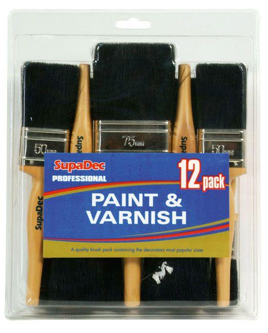 Supadec Professional Paint & Varnish Set 12 Piece
