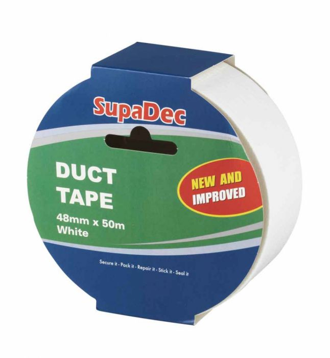 Supadec 50M Duct Tape White