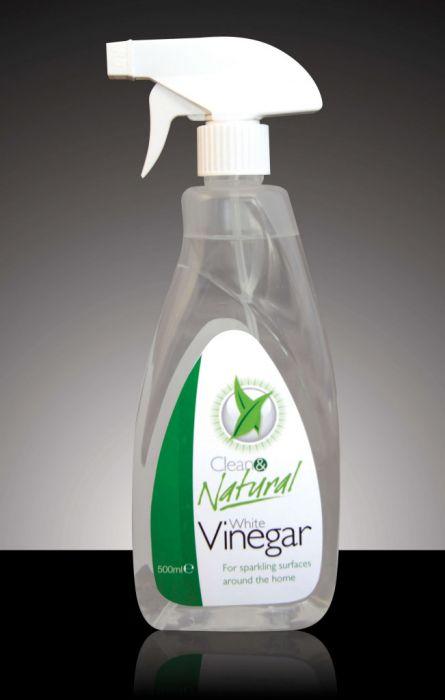 Clean & Natural White Vinegar 500Ml