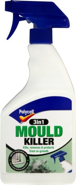Polycell Mould Killer 3 In 1 Spray 500Ml