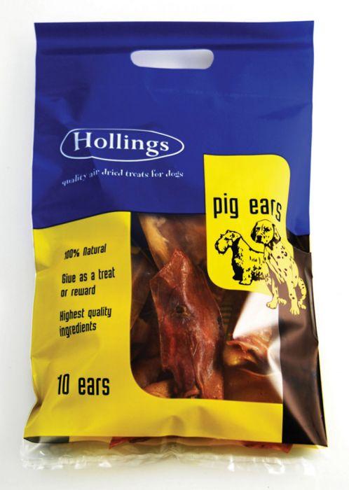 Hollings Pig Ears 10 Pack