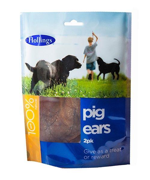 Hollings Pig Ears Pack Of 2