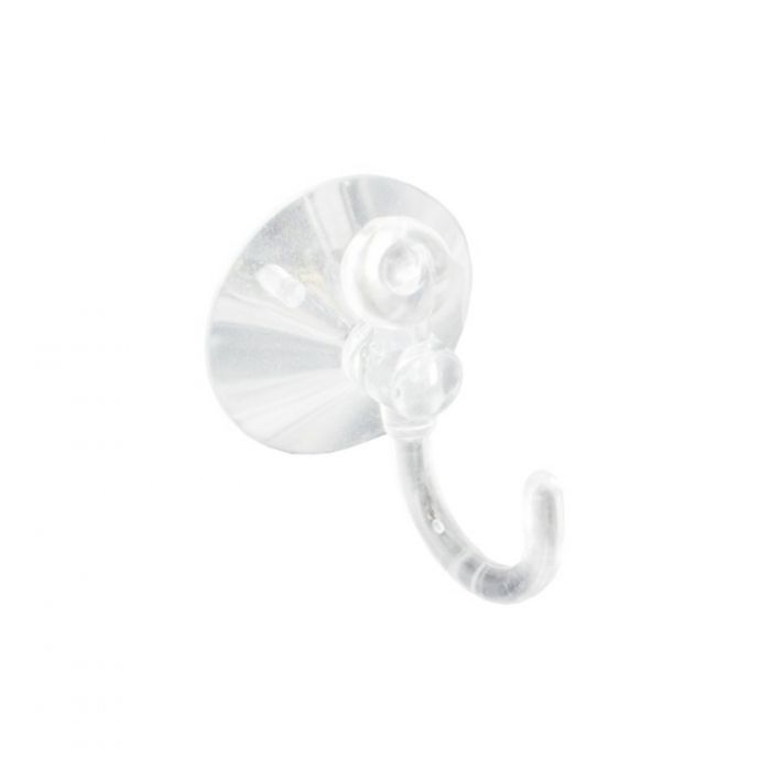 Securit Suction Hook Clear (2) 35Mm
